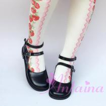 Lolita Double strap vintage student shoes