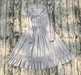 Suya~Elegant Sweet Girl Long Sleeve Lolita OP Dress