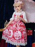 Strawberry cake~Sweet Princess Lolita JSK Dress