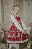 Cream crispy~Cute Doll High Waist Lolita JSK Dress
