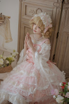 Moon garden series~Elegant and gorgeous Lolita Jsk Dress