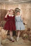Little Dipper*Star Embroidered Doll Collar Lolita Op Dress