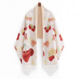 News A/W Oversize Cashmere Print Classic Vintage Elegant Lolita Scarf / Shawl