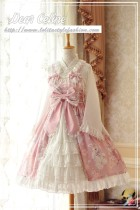 Sakura rabbit~Gorgeous Lolita JSK Dress  Version Ⅲ