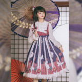 Japanese origami~Vintage Lolita Jsk Dress