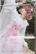 Sakura rabbit~High Waist Lolita JSK Dress  Version Ⅰ
