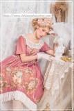 Angel frame~Elegant Painting Lolita OP Dress