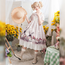 Pastoral duck~ Pastoral Duck Printing Lolita OP Dress
