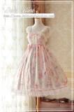 Sakura rabbit~High Waist Lolita JSK Dress  Version Ⅱ