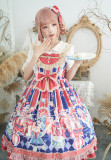 Sweetheart carnival~Circus Print Lolita JSK Dress
