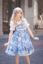 Cat dream~Sweet Print Lolita JSK Dress