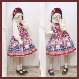 Sweetheart carnival~Circus Print Lolita JSK Dress