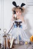 Alice~Cute Bunny Print Lolita JSK Dress