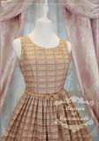 Le chocolat~Miss macaron chocolate JSK vest dress