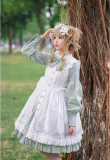 Le jardin de rose 2.0~ pastoral style lolita jsk dress/apron