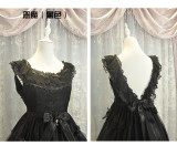 Fairy Tale Mysterise~Angels and demons gorgeous lolita jsk dress