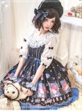 Metallurgical magic~Sweet Print JSK Dress/OP DRESS