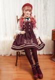 Magic music shool~Embroidery Lolita JSK Dress