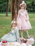 ChessStory~Le jardin de rose 2.0 pastoral style lolita Long sleeves op dress