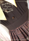Le chocolat~Miss macaron chocolate long sleeve lolita op dress