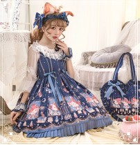 Metallurgical magic~Sweet Print JSK Dress/OP DRESS