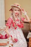 IceCherry~Sweet Lolita JSK Dress+Blouse
