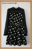 The queen of hearts~Sweet Long Sleeve Lolita OP Dress