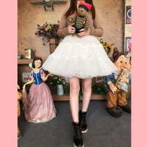 Super-puffy Organza Lolita Petticoat / Above the knee Petticoat/Skirt