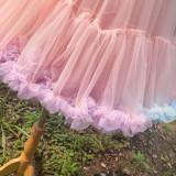 Lolita Rianbow A-line  Fluffy Petticoat