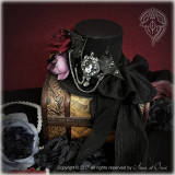 Bat-wing series~Dark Prince Goth Lolita Hat