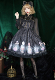Halloween Magic Bottle Splicing Lolita OP Dress