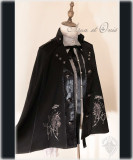 Chess~Dark Prince Goth Lolita Cape