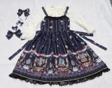 Ballet Music Box Print Lolita JSK/Jumper skirt