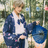 Mirror flower~Japanese Sakura  Haori/cape