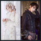 The Bat-wing Trench Coat Vintage Gothic Outfit/ouji