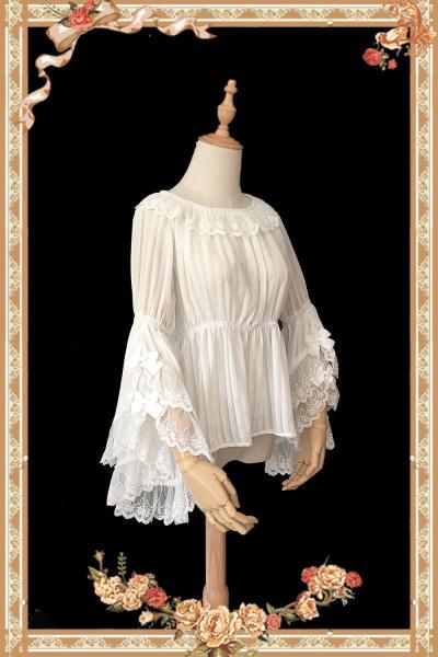 【Infanta】 Fairytale Town Dance~Lolita Hime Sleeves Blouse
