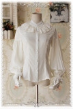 【Infanta】 Swan Lake~ Puffy Long Sleeves Lolita Blouse