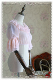 【Infanta】 Infanta Detachable Set-in Hime Sleeves Chiffon Lolita Short Version Blouse