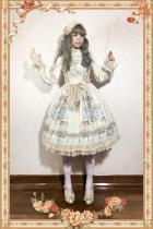 【Infanta】 Angel Symphony ~ Sweet lolita Printed JSK Dress