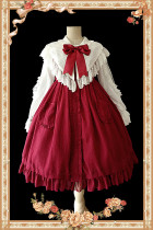 【Infanta】 Jenny Cookies~ Pure Cotton Babydoll Style Lolita JSK Dress