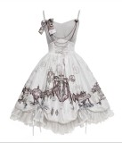 Steam Girl~Vintage Punk Lolita JSK Dress