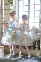 Midsummer secret garden~Classic gorgeous elegant Lolita JSK Dress/Jumper for tea party