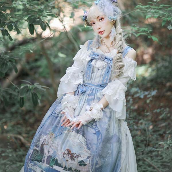 Echo's voice~Classic Lolita JSK Dress Version Ⅱ