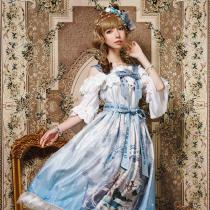 Echo's voice~Classic Lolita JSK Dress Version Ⅰ