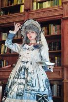 Night at The Musevanina Little Devil Gothic Lolita OP Dress