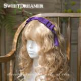 SweetDreamer Diane Vintage daily three-story bow /Lolita  daily headbow/KC