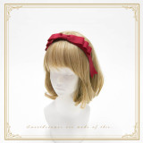 SweetDreamer Diane Vintage daily three-story bow /Lolita  daily headbow/KC