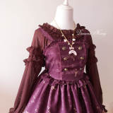 Summer Sweetheart Chiffon Falbala Long Sleeve Lolita Blouse