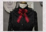 SweetDreamer~ Vintage rose bow Lolita brooch & lolita hairpin