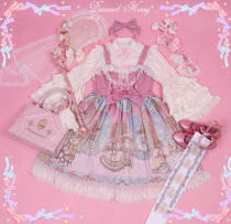 Court Cat Ball Gorgeous Retro Princess Lolita JSK/Jumper skirt